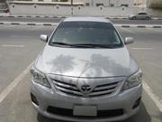 Toyota Corolla,  серебро,  модель 2012....